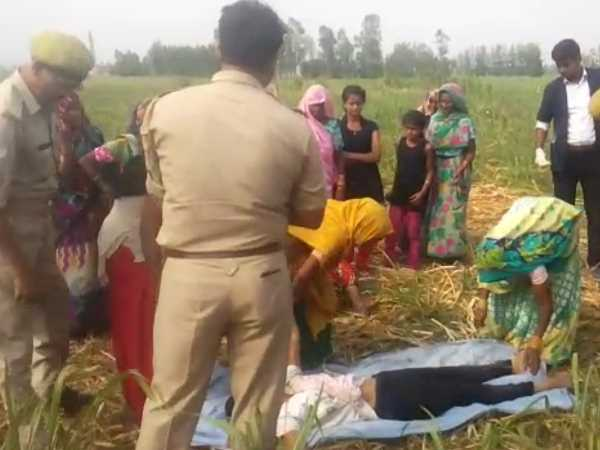 kill the teenager after rape and throw it in the farm in shahjahanpur