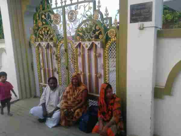 Wife Protesting Outside In Law S House In Mau