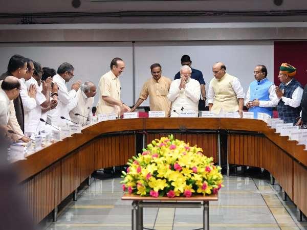 <strong>मानसून सत्र से पहले पीएम मोदी अध्यक्षता में सर्वदलीय बैठक</strong>