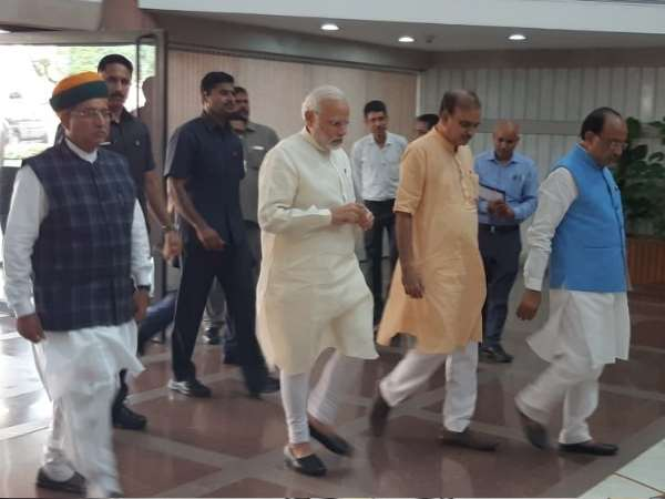 BJP Parliamentary Party executive meeting ahead of parliament monsoon session
