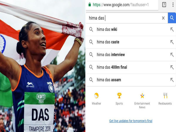 Hima Das' caste highly searched on Google; Twitterati criticise 'archaic' mindset