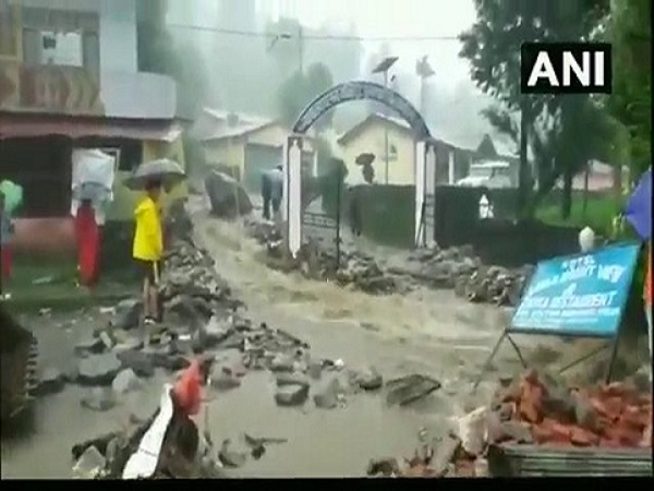 Cloudburst hit Munsiaris Balati in Pithoragarh No casualty reported
