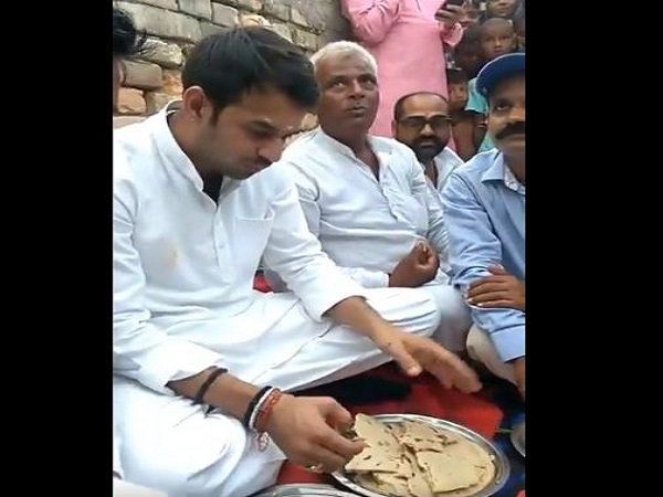 bihar: makke ki roti with tej pratap a new campaign of rjd leader