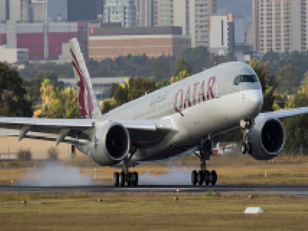 Qatar Airways flight damages lights at runway during landing in Cochin, investigation on