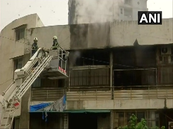 Fire breaks out in a five-storey building in Shaitan Chowki area of Mumbai