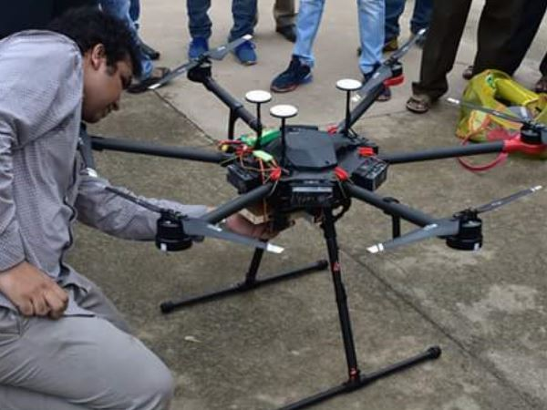 dron will save lives of the peoples, testing in kumbh