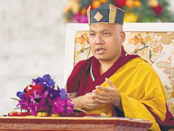 America is the new location of the karmapa ogyen trinley dorje