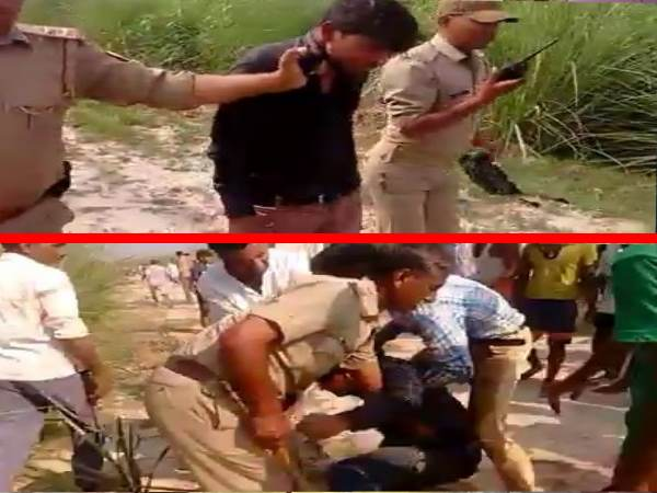 mainpuri Live encounter between police and gangsters