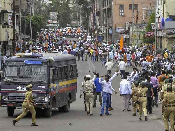 महाराष्ट्र: मराठा संगठनों ने किया बंद का ऐलान, मुस्लिम संगठनों ने दिया समर्थन