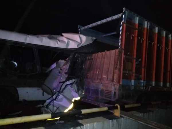 8 people died in roadways bus accident in Mirzapur