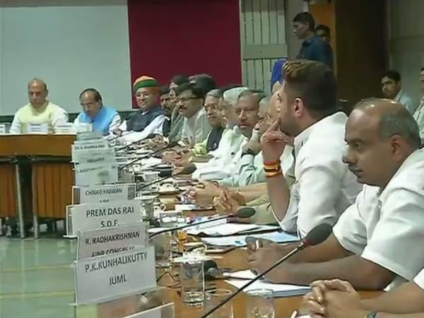 Narendra Modi chairs all party meeting Parliament Monsoon session