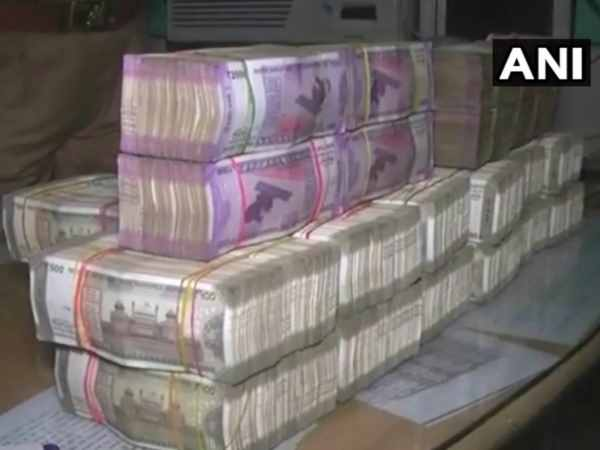 2 people arrested & Rs. 2 crore have been seized from Mughalsarai railway station