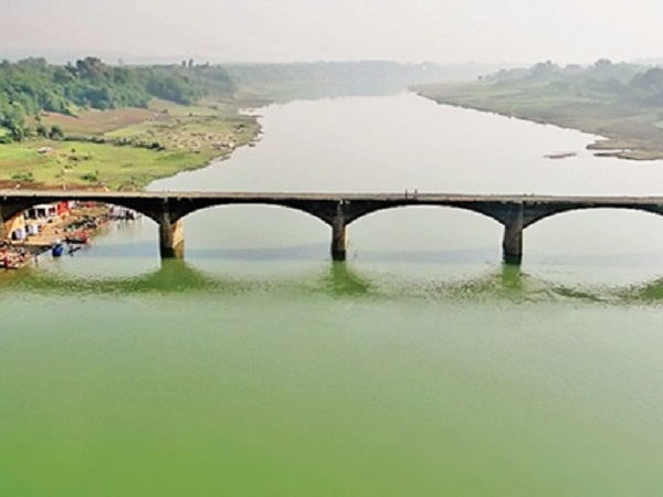Madhya Pradesh Congress Slams Officials For Pouring Liquor Into Narmada River