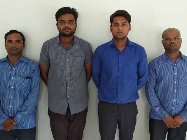 paytm cashback scam stf arrestde four people in lucknow
