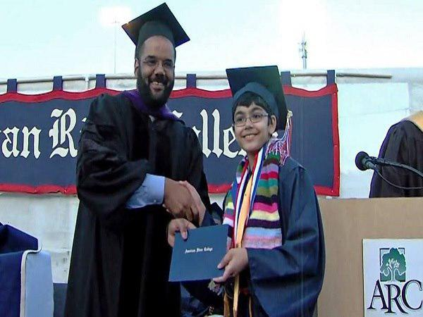 15-Year-Old Indian-American Boy Tanishq Abraham Graduates As Engineer