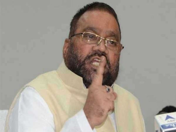 sending rakhi by mayawati is harmful says bjp leader swami prasad maurya bahraich