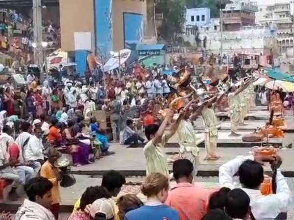 world famous kashi ganga aarti timing change in varanasi