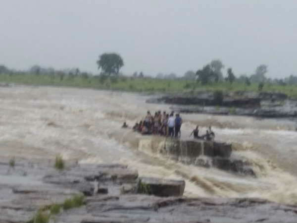 11 youth drowned in Sultan Garh Waterfalls after water level increased due to release of water from a dam, 30 still stranded-at-spot