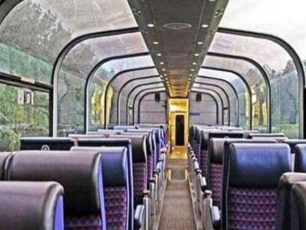 Railways glass-top coach in Kashmir all dressed up and nowhere to go