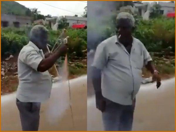 VIDEO: सिगरेट से रॉकेट जलाने का ये वीडियो देखा क्या आपने?