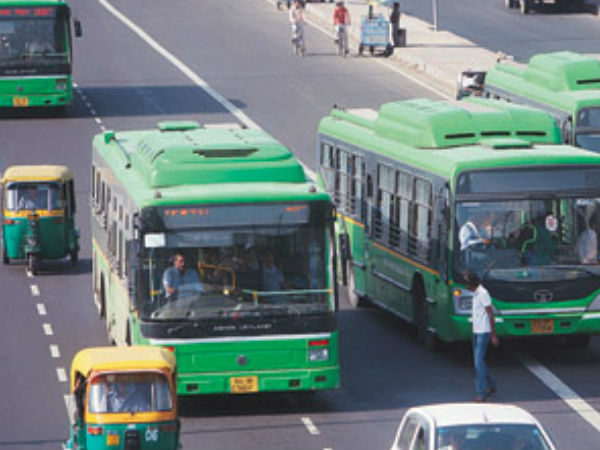 Delhi Metro cards valid for travel on DTC buses also.
