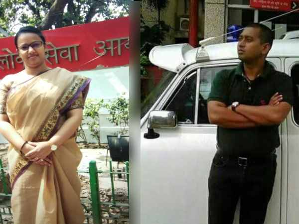 police arrested fake couple ias and irs offiers in agra