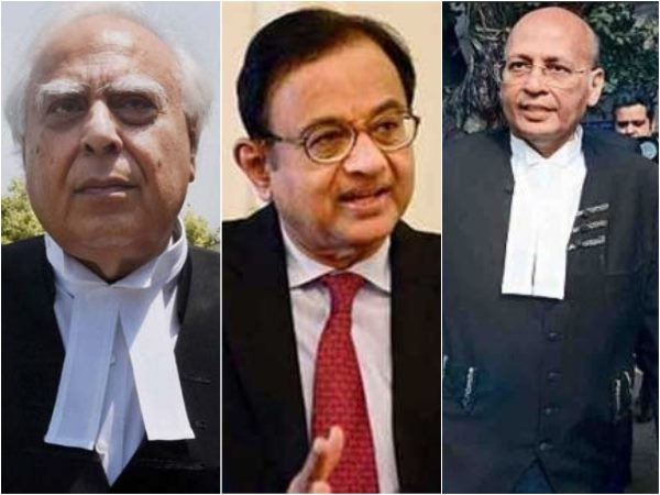 Congress leaders, senior advocates Abhishek Manu Singhvi, Kapil Sibal and P Chidambaram against each other in Supreme Court