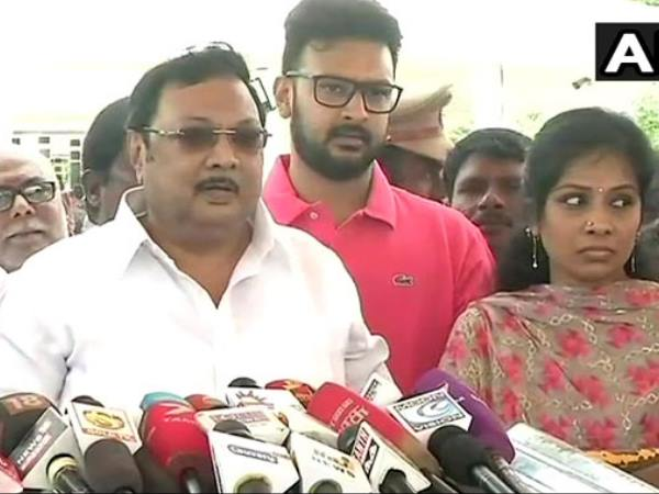 DMK sacked leader MK Azhagiri claims support of father Karunanidhi loyalists
