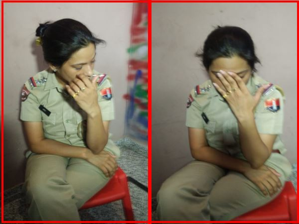 jaipur anti corruption team arrested a lady sub inspector taking bribe watch video
