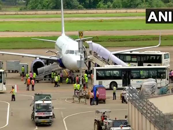 Kerala Floods: Operations resumed today at kochi International Airport that was closed due to flooding