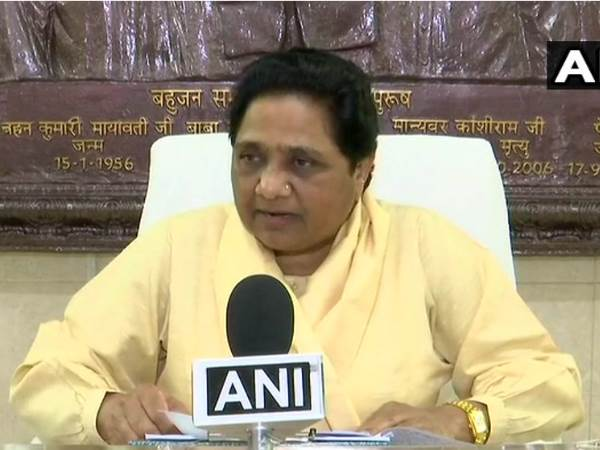 mayawati atack yogi govt says lok kalyan mitr appointments waste of money