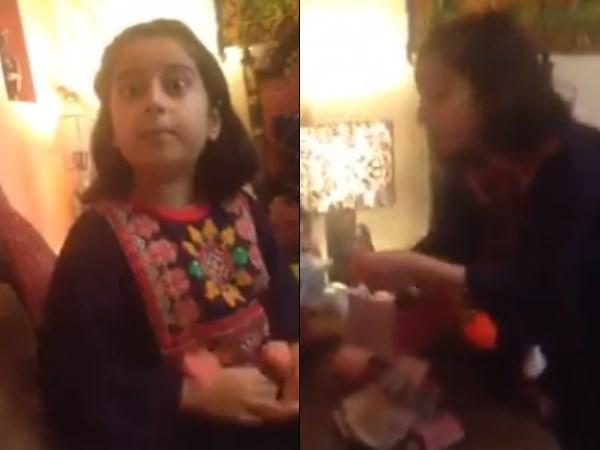 ईदी के लिए मां से लड़ने वाली पाकिस्तानी बच्ची ने अब गुल्लक में बताया करप्शन का पैसा, वीडियो वायरल