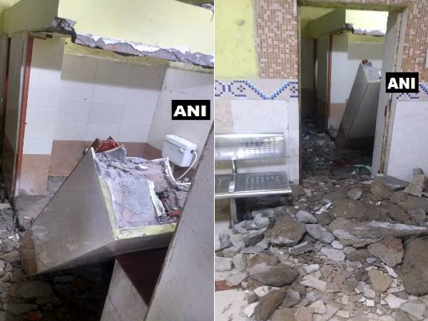 patna junction wall collapse