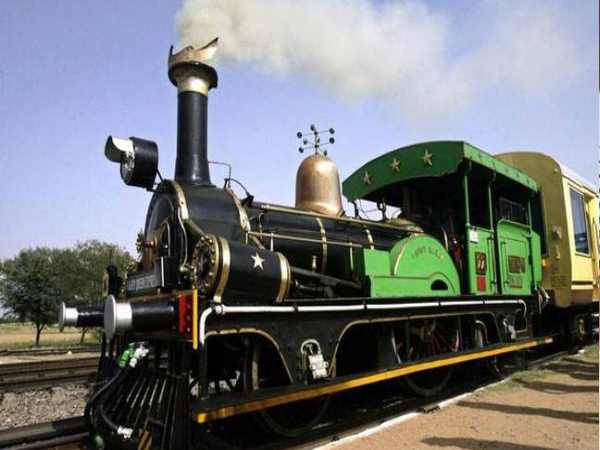 special train for American tourists built in 1857