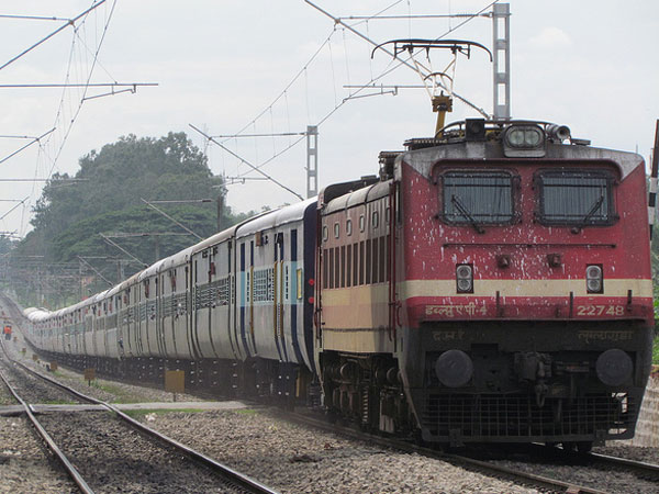 Seven people hit by a train while trying to cross a railway track in Mathura