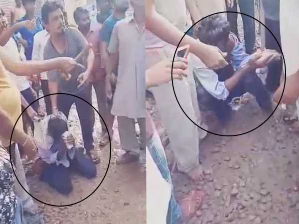 man who molested a school girl beaten very badly watch video