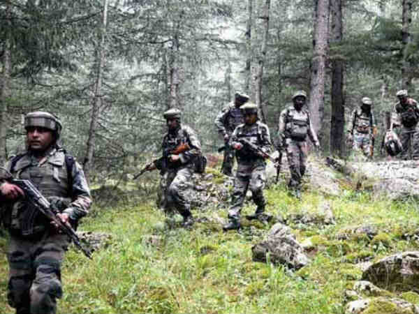 Jammu & Kashmir: Terrorists fired from an Underbarrel Grenade Launcher towards joint army and CRPF camp located