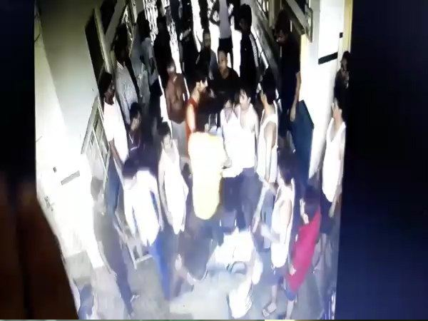 BHU student scourge in hostel Breakdown watch the CCTV footage