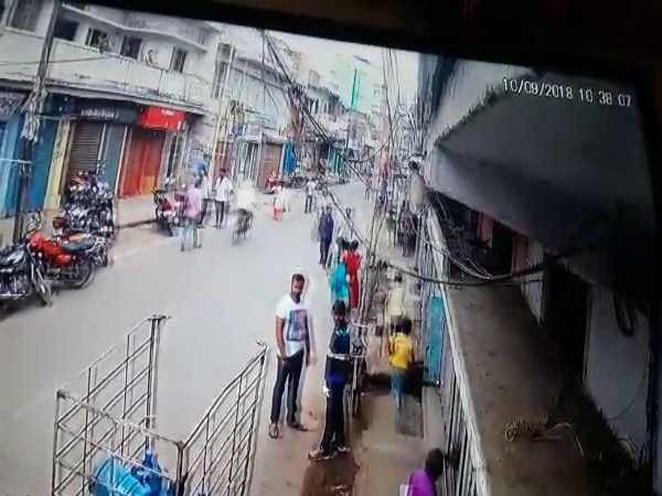 five children in patna absconding from children shelter caught on cctv