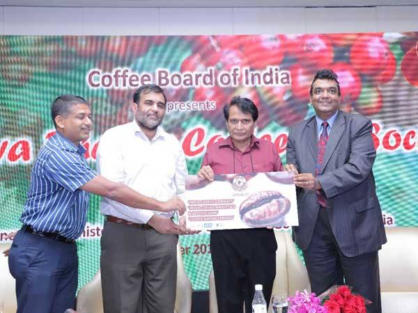 Suresh Prabhu launched Coffee Connect app for digital initiatives to benefit coffee stakeholders