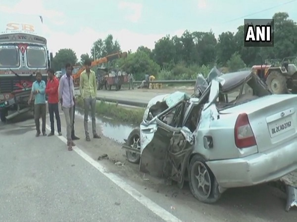 Haryana: collision between a truck and a car in Rewari, 6 dead