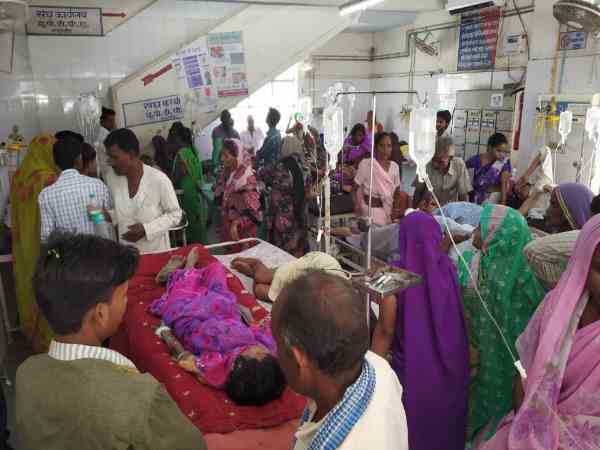 now doctors and staff are suffering from fever in shahjahanpur