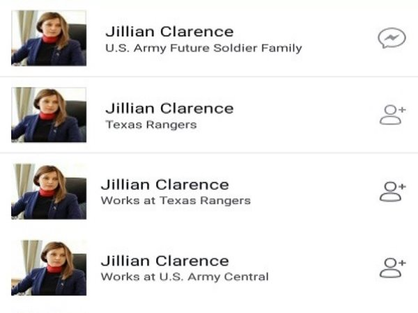 at least 6 Facebook ID have been hacked and lady foreigner soldiers pic placed in DP