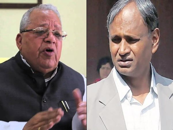 sc st act bjp mp kalraj mishra and udit raj