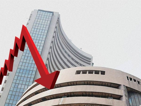 sensex and down at opening, rupee extends losses after opening at record low trading at 71.33
