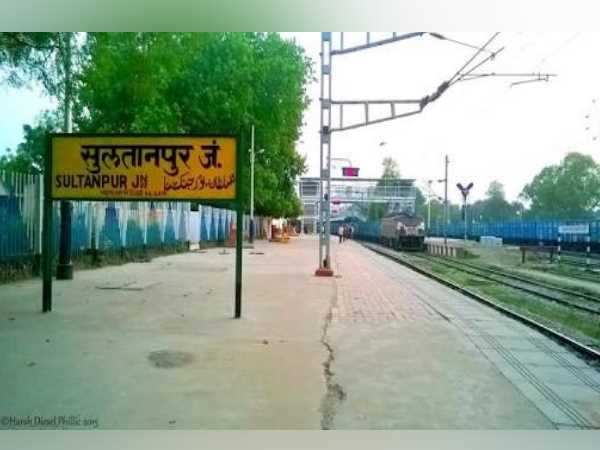 New railway track completely bulit in sultanpur