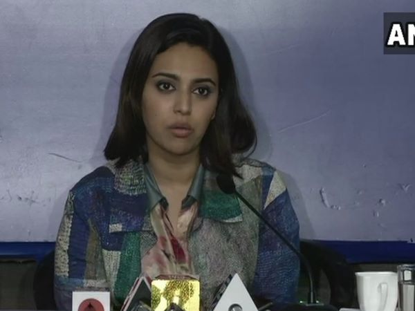 Swara Bhaskar says the people who assassinated mahatma gandhi is in power today