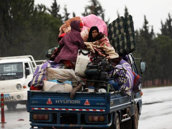 UN said 38,500 Flee in Syria since September 1 Due to Idlib Hostilities