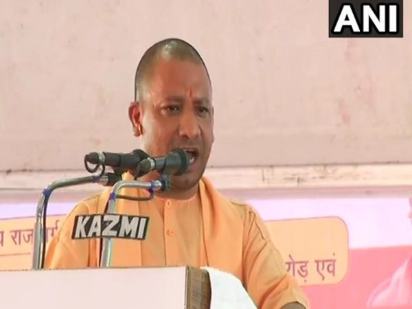 UP CM Yogi Adityanath target previous governments of SP and BSP over road