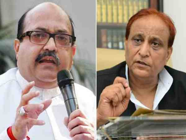 Amar Singh lodged FIR against Azam Khan in Gomti Nagar Thana